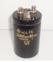 63v 22000uf Electrolytic Capacitor Radial 22000UF 63V 50x80mm 1pcs