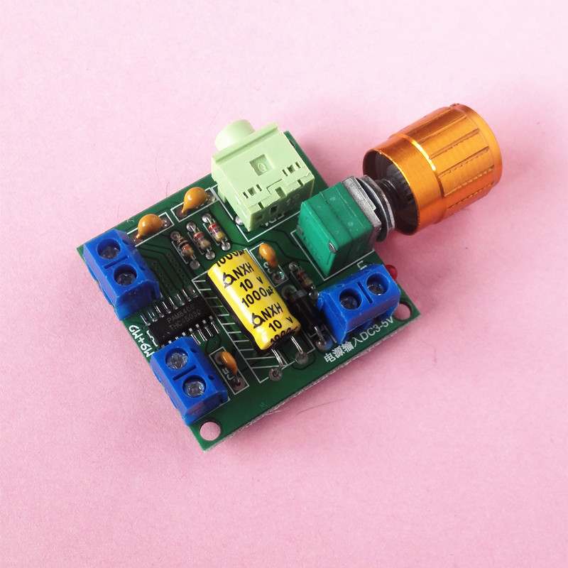 PAM8406 power amplifier board 3-5V is better than PAM8403 power amplifier board 6W power supply