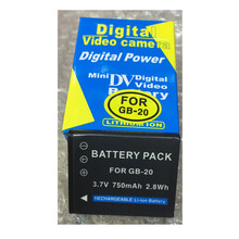 GB-20 GB20 lithium batteries pack GB 20 Digital camera battery For Sanyo G-20 G2