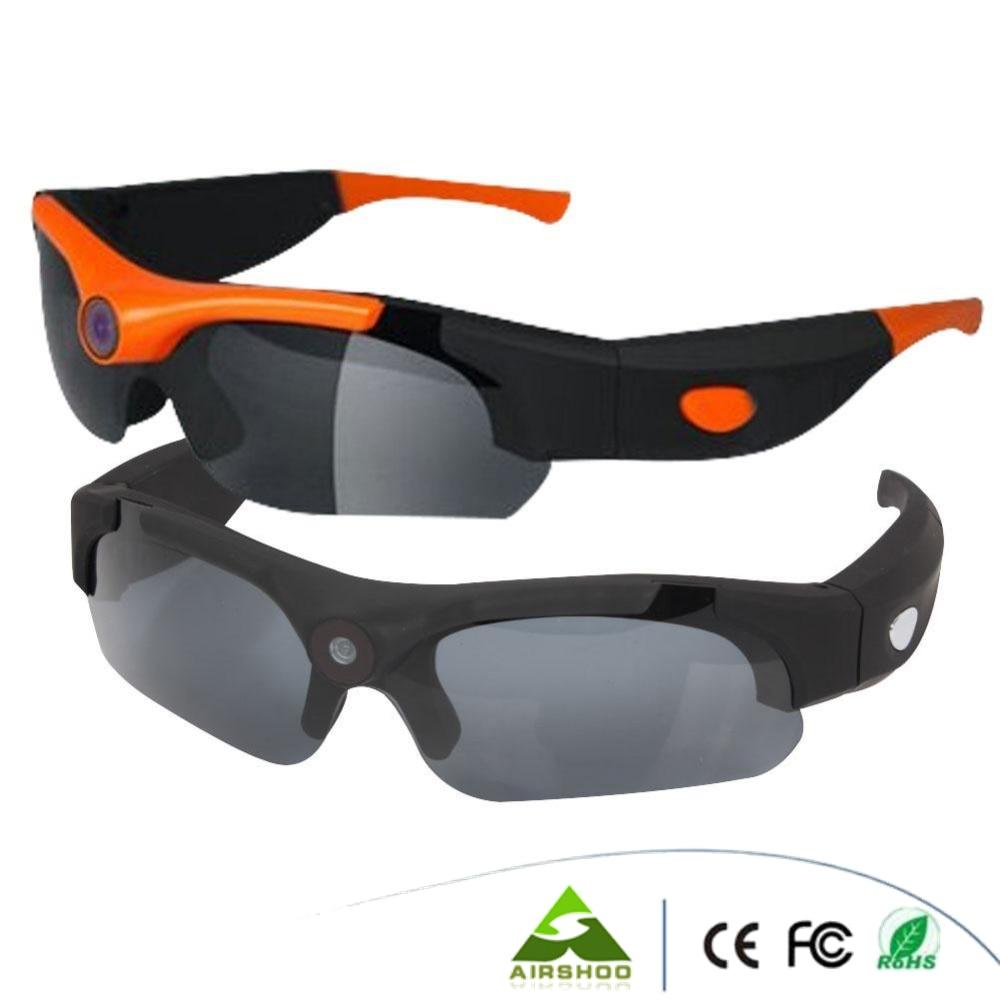 New Arrival 2016 Original DV Sports Polarized Sunglasses Eyewear Video HD 1080P Camera DVR 120 Degree