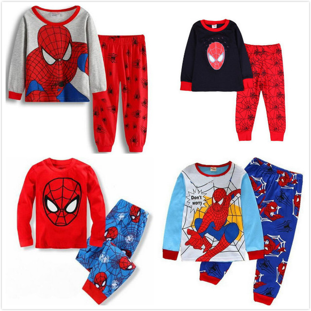 7798ac1a3 Fashion children home wear clothes kids Pajamas Sets boy girl night ...