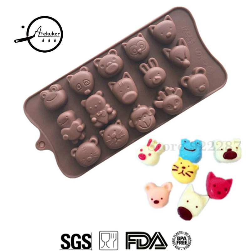 Kitchen,dining & Bar Have An Inquiring Mind Non-stick Silicone Chocolate Molds Rose Love Heart Shaped Jelly Ice Molds Cake Mould Bakeware Baking Tools