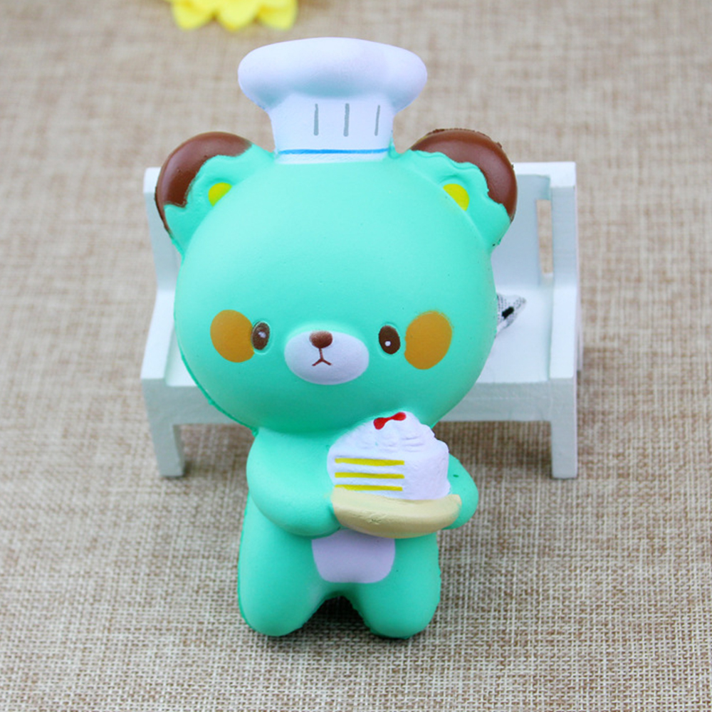 12CM Kawaii Cake Little Bear Mouse Squishy Toys Cell Phone Straps Kids Toys Gift Accessories -in ...