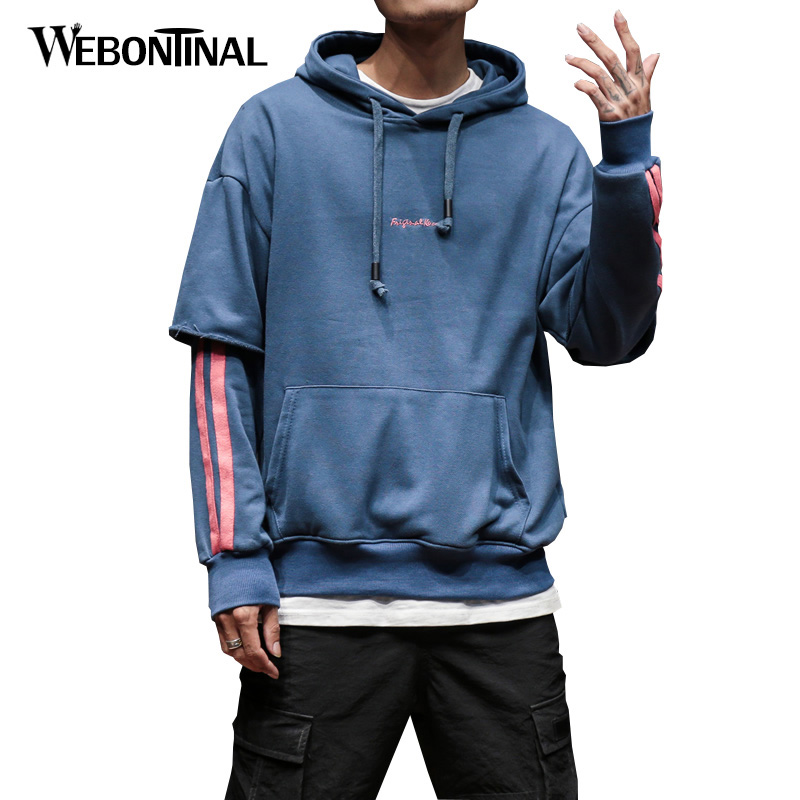 Autumn Winter Hoodie Male Cardigan Hombre Hip Hop Sweatshirt Men Hoodies moleton masculino Mens Hooded Pullover Tracksuit W18108