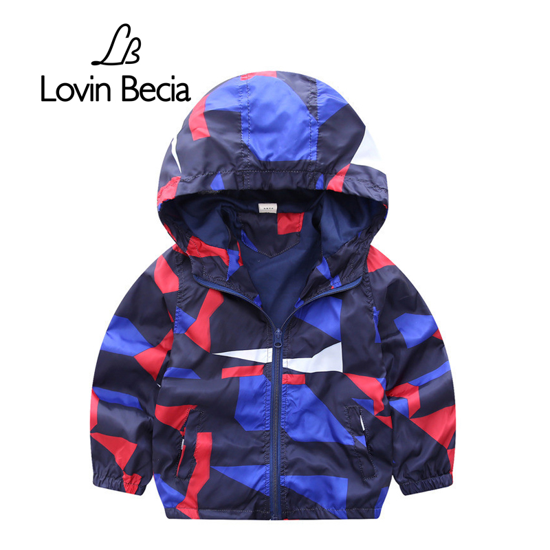 все цены на Lovinbecia infant Blazer Clothing Toddler Boys Jacket Baby Coat Clothes Spring Autumn kids Hooded Windbreaker Children Outerwear