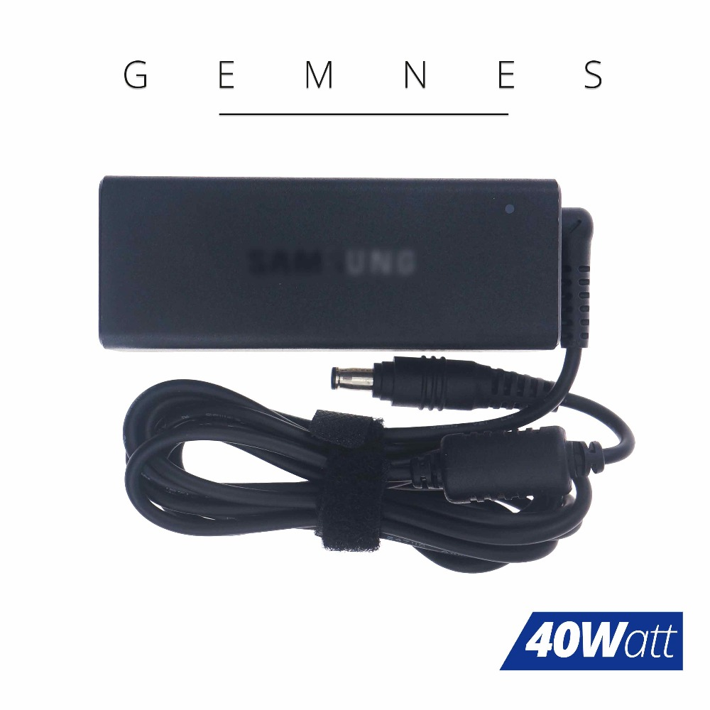 New Original 40W AC Power Adapter for Samsung Laptop Charger BA44-00313A A13-040N2A AD-4019C 19V 2.1A