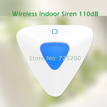 433 MHz nowy projekt bezprzewodowy kryty sygnalizator stroboskopowe mini kryty syreny dla wifi gsm systemy alarmowe G90B tanie i dobre opinie Emooluxr indoor siren 433MHz