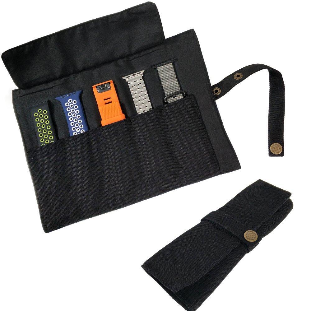 YOOSIDE Smart Watch Band Protable Storage Bag Case Pouch Organizer For Apple Watchbands/Garmin Watch Band/Samsung Watch Band