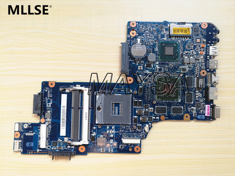 все цены на laptop motherboard fit for toshiba satellite C850 L850 15.6'' H000052580 H000038410 HM76 DDR3 100% working онлайн