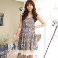 Plus Size Maternity Clothing Fashion Sleeveless L XL Korean Summer Maternity Clothes Floral Pregnancy Dresses for Pregnant Women