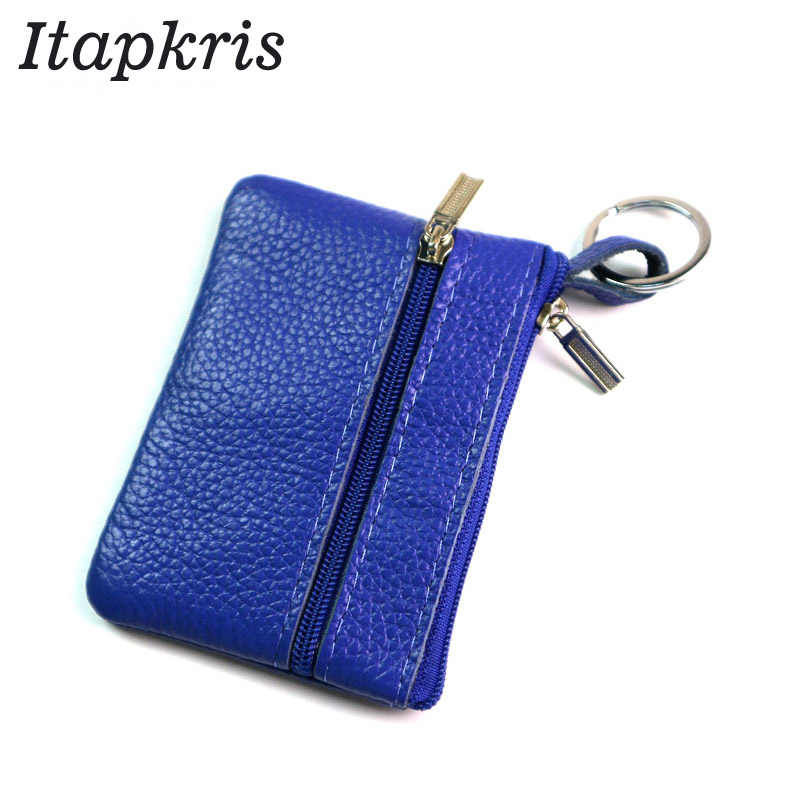 f186a2d9963959 New Arrival Casual Women Housekeeper For Home Fashion Leather Coin Pouch  Case Wallet Man Car Key
