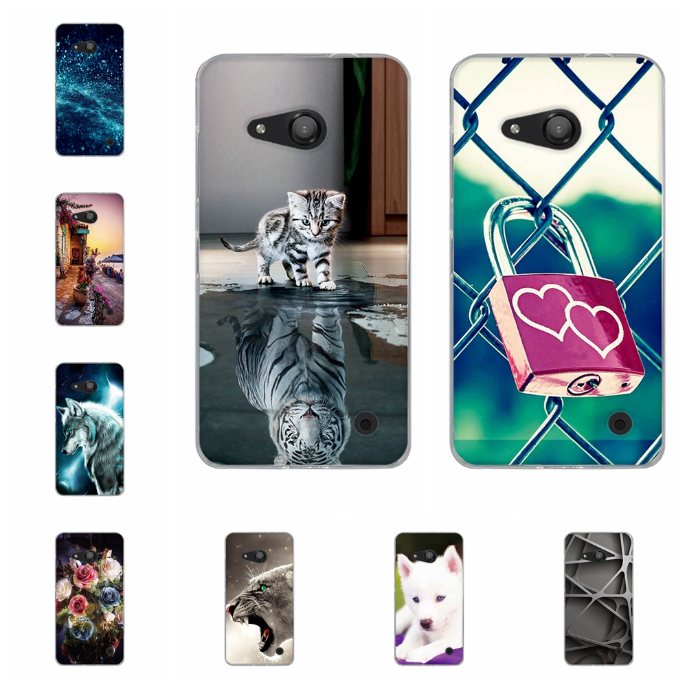 For Nokia Microsoft Lumia 550 640 Phone Case Cover For Ultra Thin TPU Capa For Nokia 640XL lumia 650 Silicone Pattern Bumper image