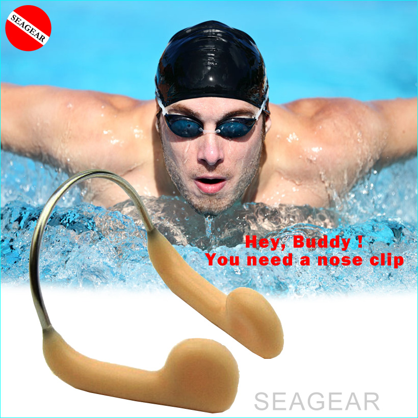Swimming Nose Clips Silicone Nose Plugs Nose Protector with Steel for Adults Kids Swimming Competition Using
