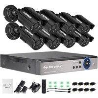 8ch HD Full 960h CCTV System 8ch Video Surveillance Hybrid DVR KIT 8 800TVL Outdoor Security