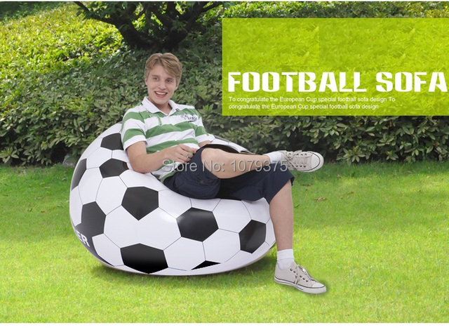 Envío gratis inflable sofá cama, inflable sofá inflable del fútbol ...
