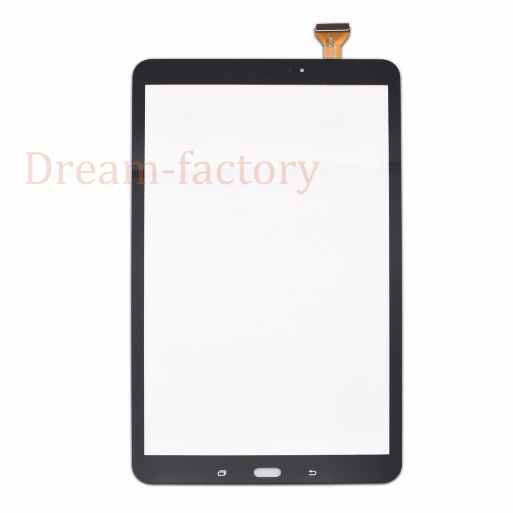 50 шт. Сенсорный экран планшета Стекло объектив с губкой для Samsung Tab 10.1 2016 T580 t585 Бесплатная DHL