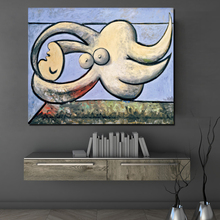 Pablo Picasso Reclining Nude Wall Art Canvas Painting Posters Prints Modern Painting Wall Picture For Living Room Home Decor Art