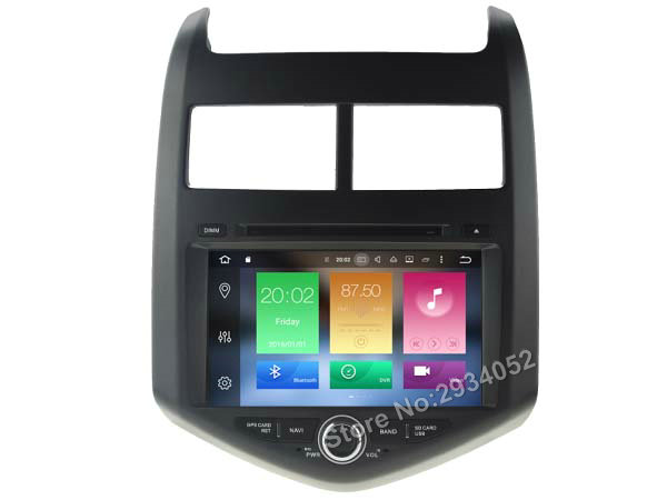 FOR CHEVROLET AVEO SONIC Android 6 0 Car DVD player Octa Core 8Core 2G RAM 1080P