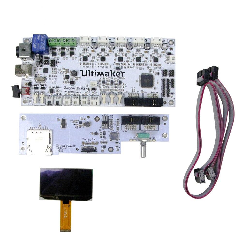 3D printer motherboard suite UM2 suite interface board + Display + master V2.1.4