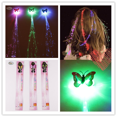 Jewelry Sets & More 10pcs/set Led Novelty Hairpin Colorful Shiny Light Braids For Woman Girl Kind Hair Clip Party Halloween Accessories