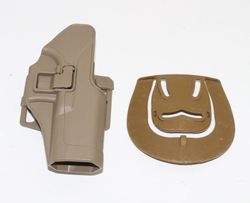 Color : Belt holster tan