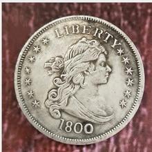 1800 Liberty американский Орел памятная монета американская монета сувенир вечерние подарки для мальчиков и девочек