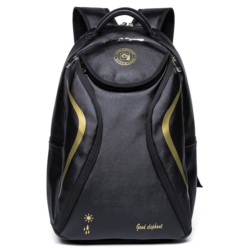 PU Leather Backpack Men Women School bag For Girl Boy Casual Backpacks College Student Notebook Bags Pack Female Mochila HAD075