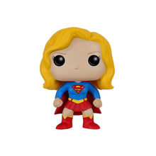 Heroes Supergirl Vinyl Figure Model Doll Super Heroes Girl Toy Decoration Gift For Children(China)