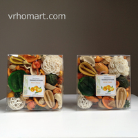 Primitive Bowl Fillers and Potpourri dried flowers petals active orange Fragrant batanical flowers boxes mixed flowers sachet