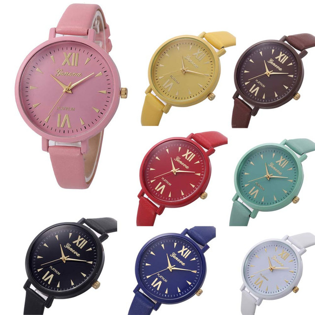 7775d49830ee 2017 reloj de mujer casual