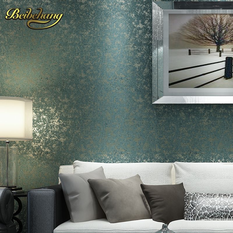 beibehang wall paper. mottled retro nostalgia elegant solid non-woven wallpaper living room bedroom backdrop wall paper велопокрышка continental grand prix 700x25c 25 622 180tpi складная борт кевлар черная 100637