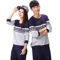 Autumn Winter Casual Pyjamas For Couple Pajamas Set Men S Sleepwear Pajama Set Pijamas Mujer Lover