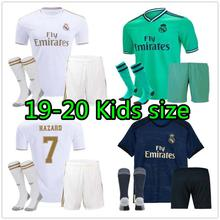 440ba860 2019 2020 NEW Real Madrid kids kit Soccer Jersey home away 3RD Hazard ISCO  19 20 Football shirt children kit