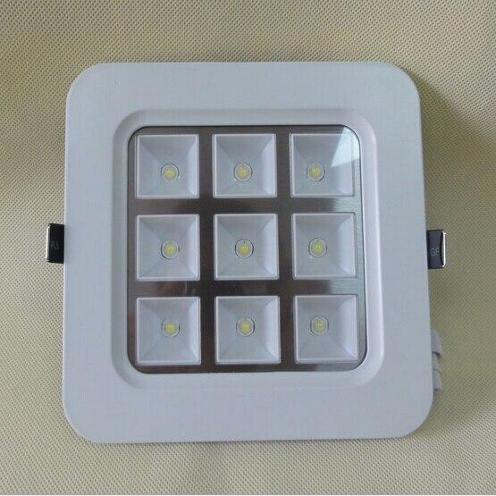 Оптовая продажа ценами белый корпус 16 Вт/9 Вт/4 Вт теплый белый/холодный белый 2800 -7500 К LED Панель площадь встраиваемые Подпушка свет AC85-265V