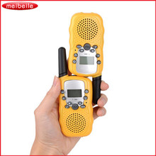 T-388 Mini Walkie Talkie UHF 462.550-467.7125MHz 0.5W 22CH For Kid Children LCD Display A0762Z 2pcs/set 4 Color for Option