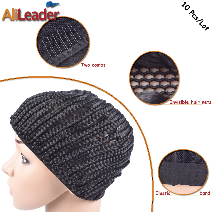 Cornrow Wig Caps For Making Wigs With Great Elastic Stretched 52 ...