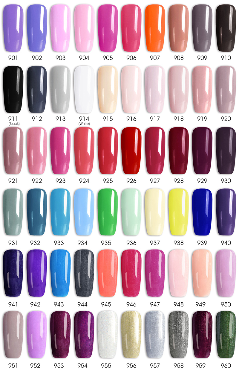 Venalisa nail Color GelPolish CANNI manicure Factory new products 7.5 ml Nail Lacquer Led&UV Soak off Color Gel Varnish lacquer 4