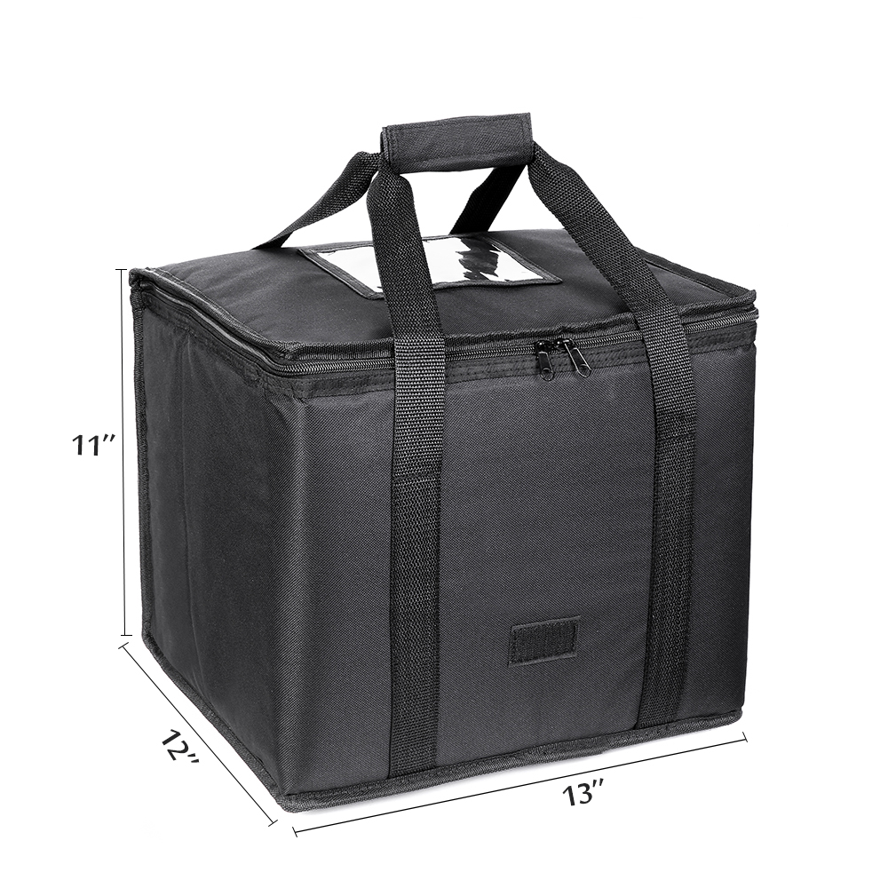 26L Cooler Bag High Quality Car Ice Pack Picnic Large Cooler Bags Black Insulation Package Thermo ThermaBag Refrigerator