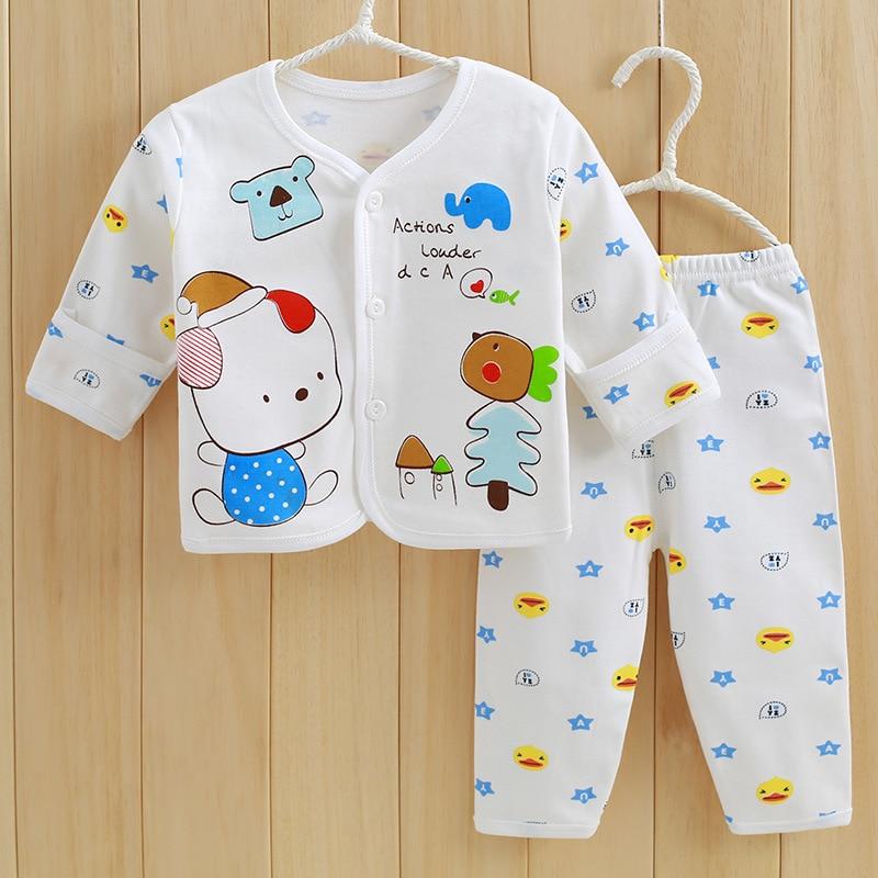 Insiemi di vestiti del cotone organico della primavera del bambino - Abbigliamento per neonato