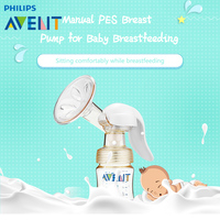 Avent Breast Pump PES Baby Breastfeeding Milk Bottle Manual Breast Pump Baby Nipple Suction Original Philips Avent Breast Pumps