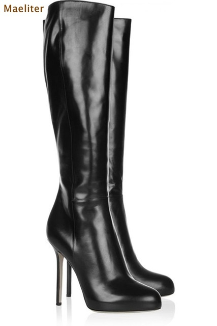 Simple Knee High Boots