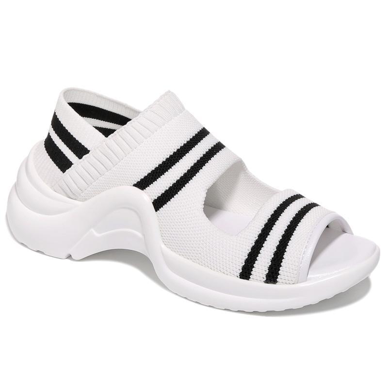 Para Las Mujeres Deportivos 1 Transpirable Moda Sandalias La Plataforma De Señoras Zapatos 2 Comodidad XdxRd