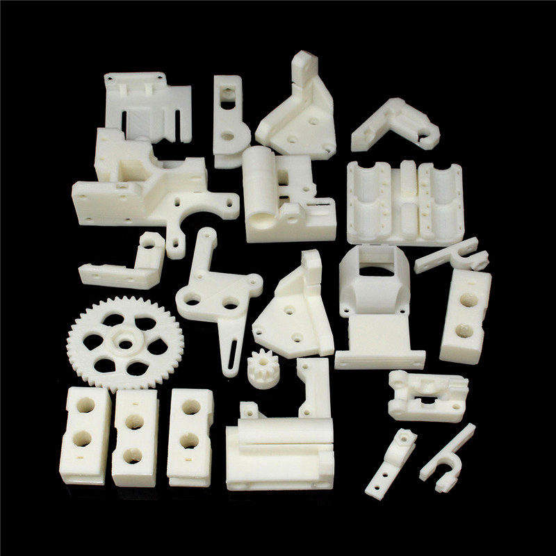 Rework 3D Printer ABS Plastic Parts KIT For Prusa i3 durable in use