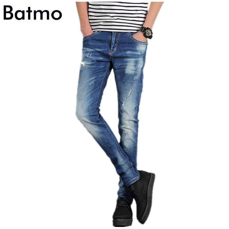 Free shipping 2017 spring new style High quality and fashionable jeans men s casual pants Men
