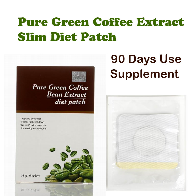 (90 days supply) Pure green coffee been extracts diet patch for weight loss 100% effective slimming fast for man and woman 80pcs slim patch weight loss patch slim efficacy strong slimming patches for diet weight lose products beauty health care