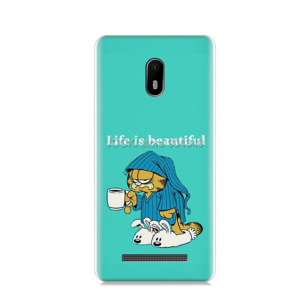 US $4 99 |For LEAGOO Z6 Case For LEAGOO Z6 Case Silicone Soft TPU Phone  Case For LEAGOO Z6 Print Case Cover-in Half-wrapped Case from Cellphones &