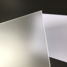 300x400x3mm 4 pieces single-surface clear matt acrylic frosted plastic panel