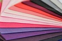 YY DIY Fat Quarter Bundle SOLID Color PINK PURPLE Cotton Patchwork Fabric Woven Home Textiles Breathable