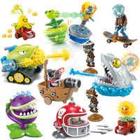 Juguetes para niños plantas Vs. Zombies novedad mordaza juguetes luminosos divertido lanzamiento juguete cumpleaños Año nuevo regalo de Navidad