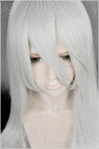 Image 3 - Gioco NieR Automata YoRHa Tipo A No.2 A2 Parrucche di Cosplay Argento Bianco Lungo Resistente Al Calore Parrucca di Capelli Sintetici + Parrucca cap